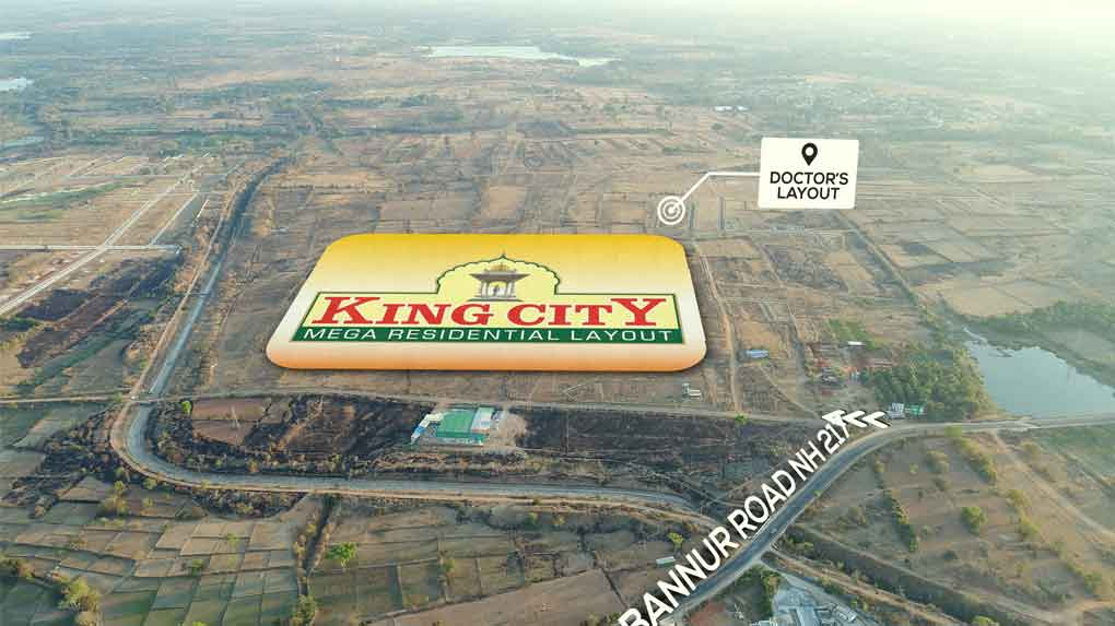 KING CITY -  Land for sale in Mysore