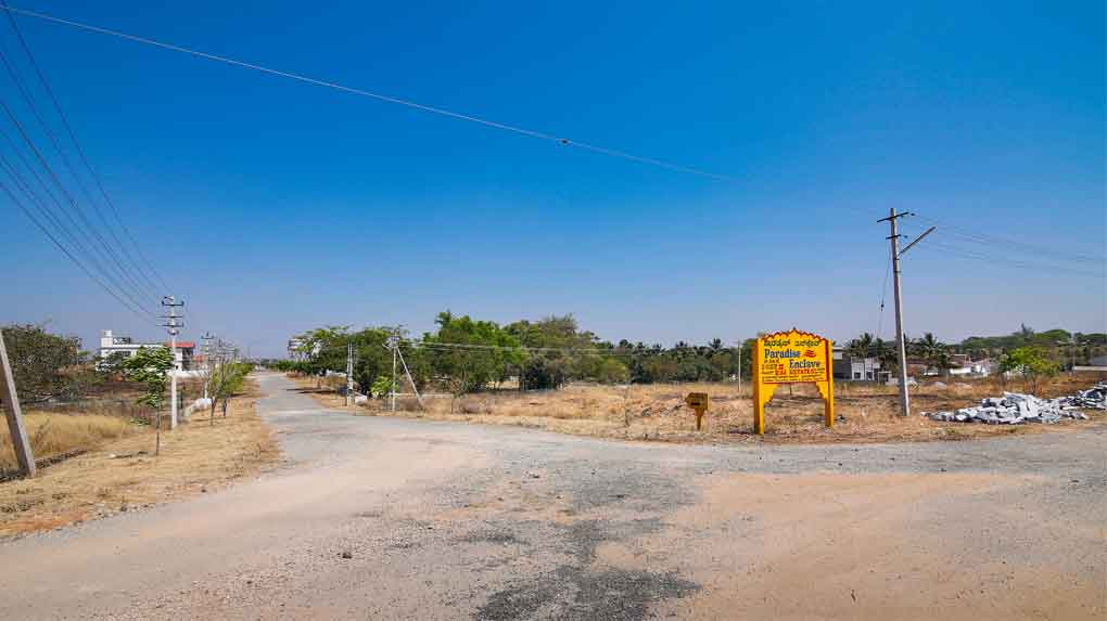 PARADISE ENCLAVE - Muda Approved Sites for sale in Mysore
